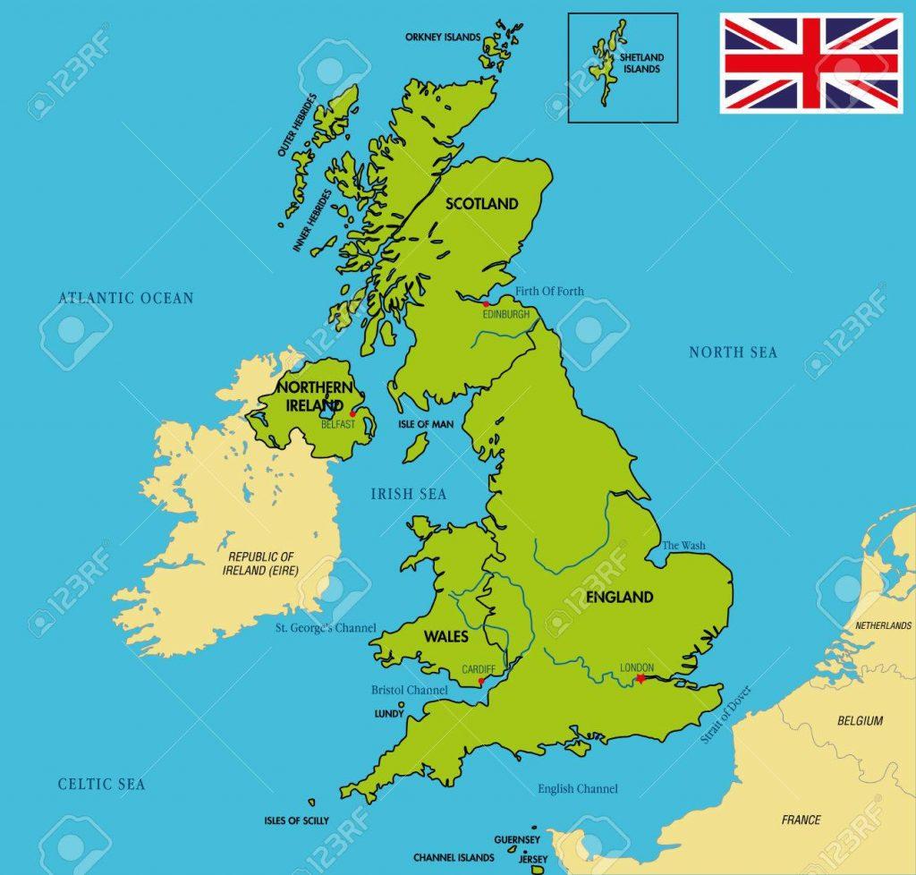 Sabe a diferença entre Reino Unido, Grã-Bretanha e Inglaterra?