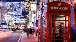 Atrações do Natal de Londres