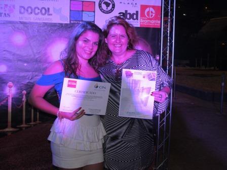 CP4 premia aluna da UVA vencedora do Concurso Novos Talentos 2015