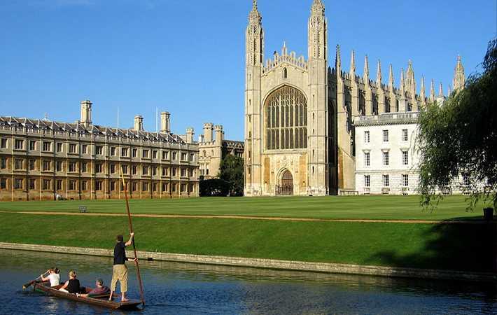 Escola em Cambridge