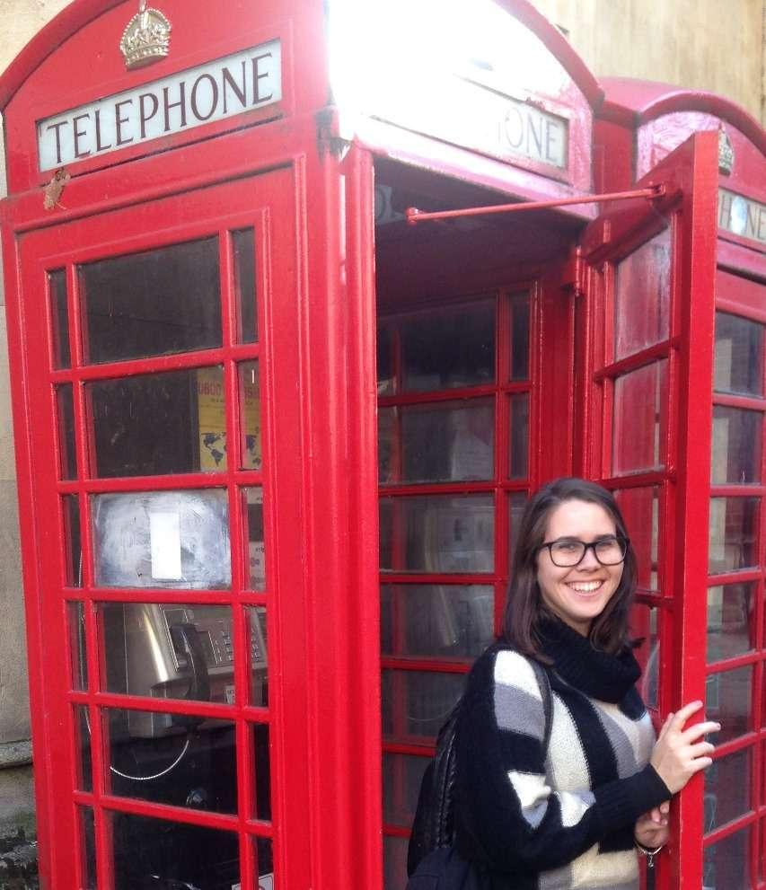 Intercâmbio Juliana<br>Conhecendo o Reino Unido